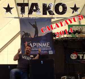 Tako en Calatayud 2014